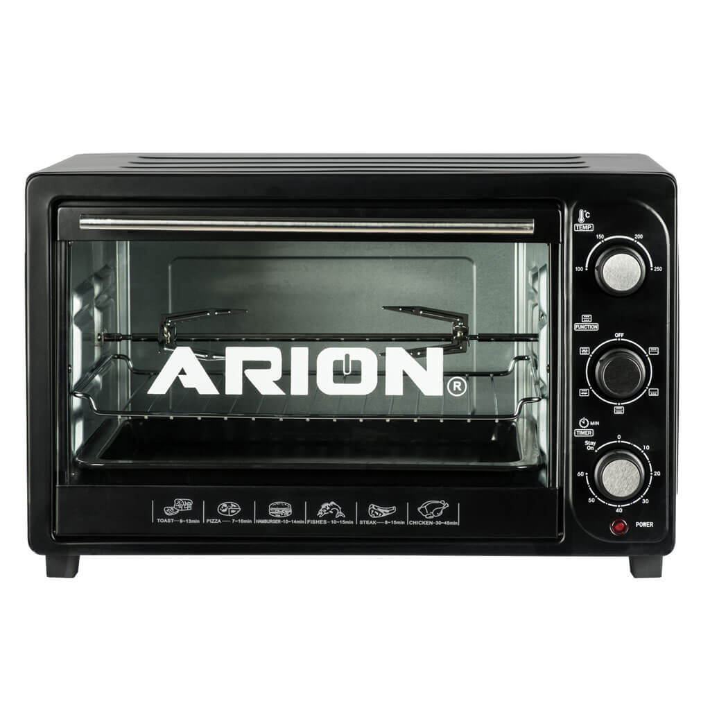 Black Electric Oven