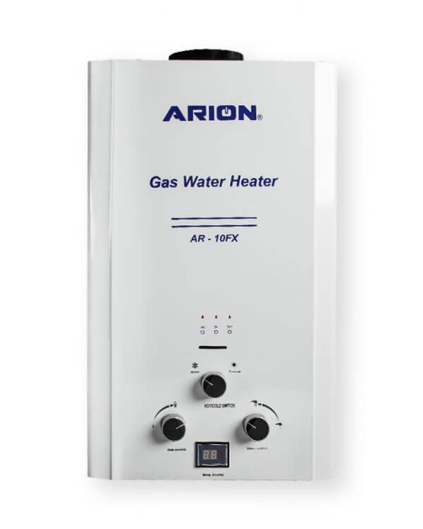 سخان مياه غاز آريون ديجيتال 10 لتر - ابيض