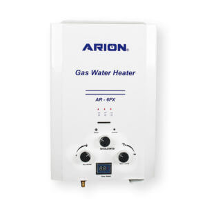 ARION Digital Gas Water Heater 6 Liters – White