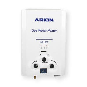 سخان مياه غاز آريون ديجيتال 6 لتر – ابيض