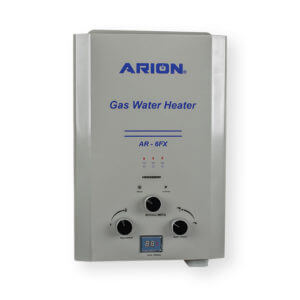 ARION Digital Gas Water Heater 6 Liters – Silver