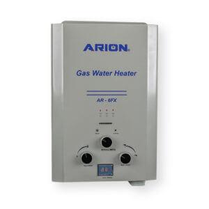 سخان مياه غازآريون ديجيتال 6 لتر – فضي