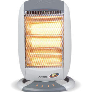 Arion Halogen Heater with Remote Control-4 Candles