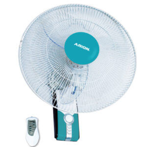 Arion Boeing Wall Fan with Remote Control 18 inch – Blue