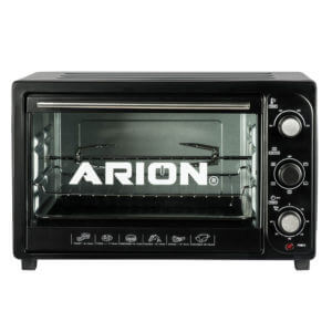 ARION Electric Oven 36L with Rotissere – Black